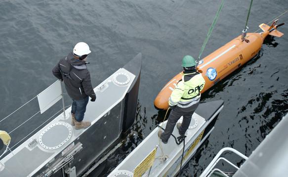 SEA-KIT USV HUGIN recovery