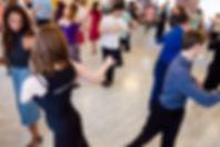 Групповое занятие танго по личной техники