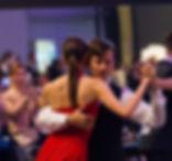 Преподаватель танго с ученицей