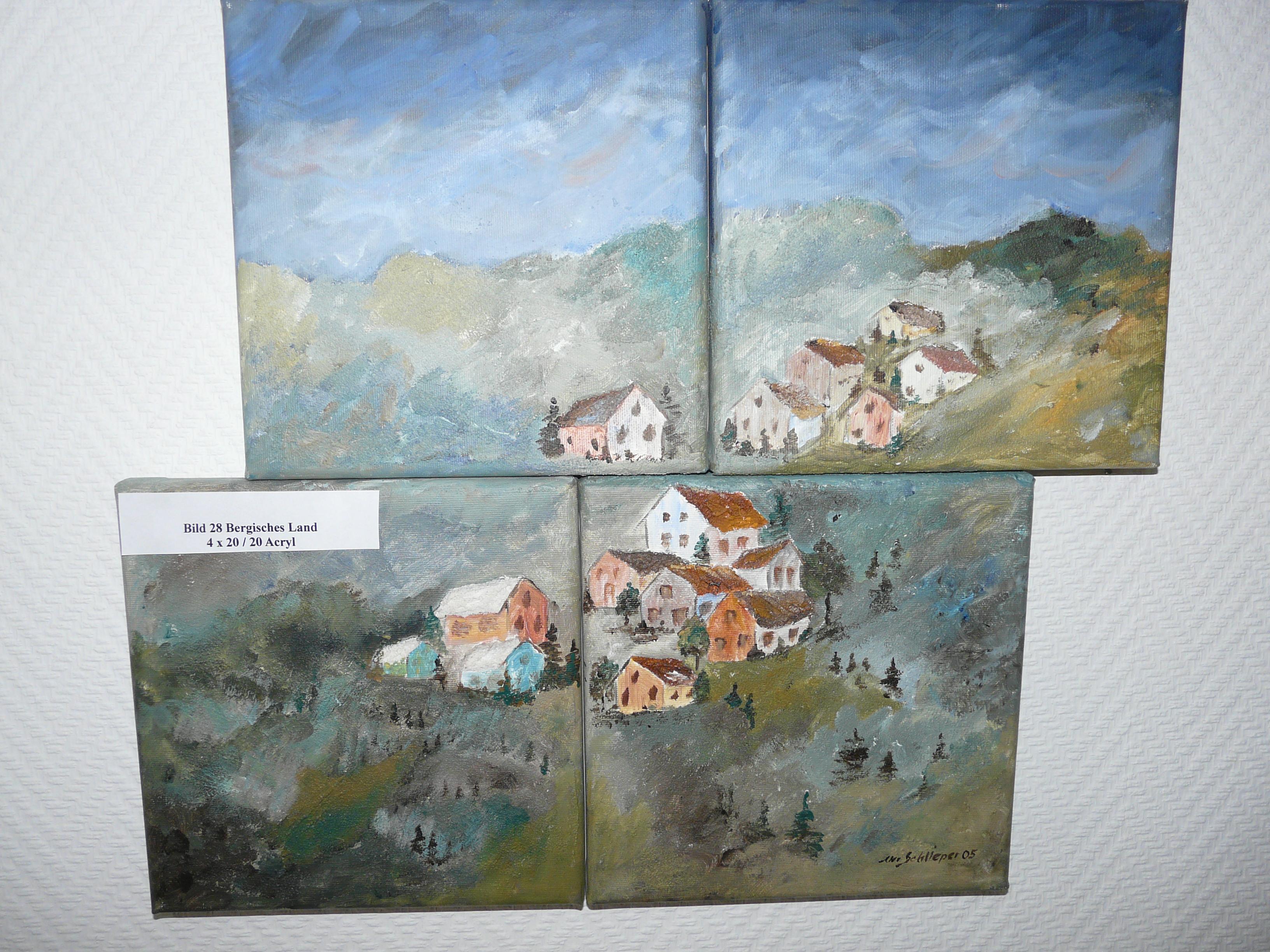 Dorf in vier Teilen