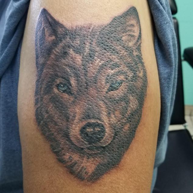 Tattoo by Mark