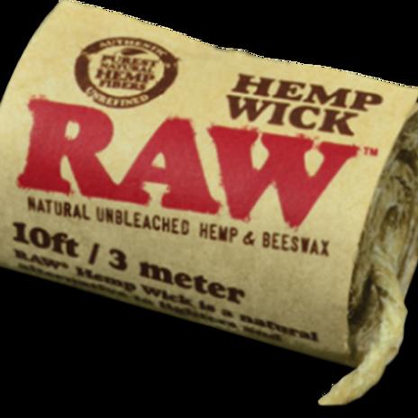 RAW Hemp Wick - 10ft