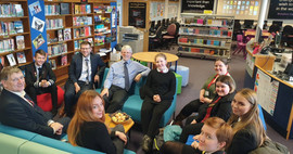 Glenrothes High School visit