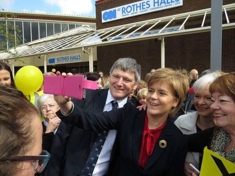 Peter Nicola selfie