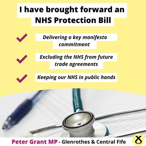SNP MP TO BRING FORWARD KEY NHS PROTECTION BILL