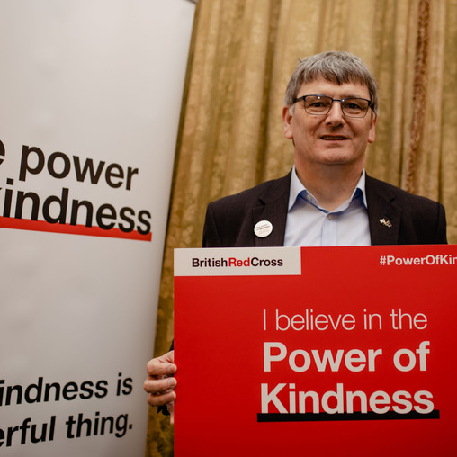 LOCAL MP'S SUPPORT FOR RED CROSS VOLUNTEERS