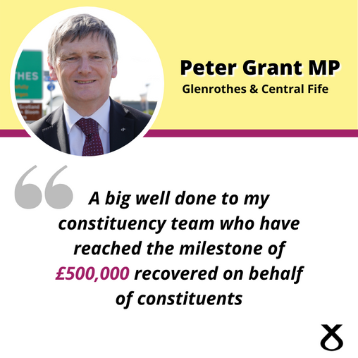 £500,000 FOR CONSTITUENTS