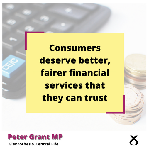 CALLING FOR FAIRER FINANCIAL SERVICES