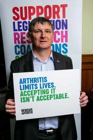 Versus Arthritis campaign