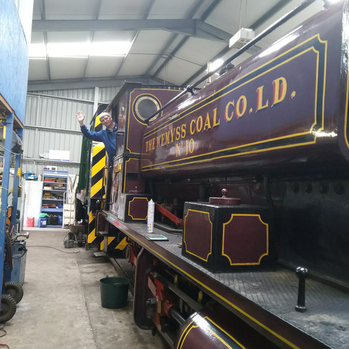 MP PRAISES RAIL HERITAGE CENTRE FOR PRESERVING LOCAL HISTORY