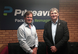 Peter visiting Pitreavie Group