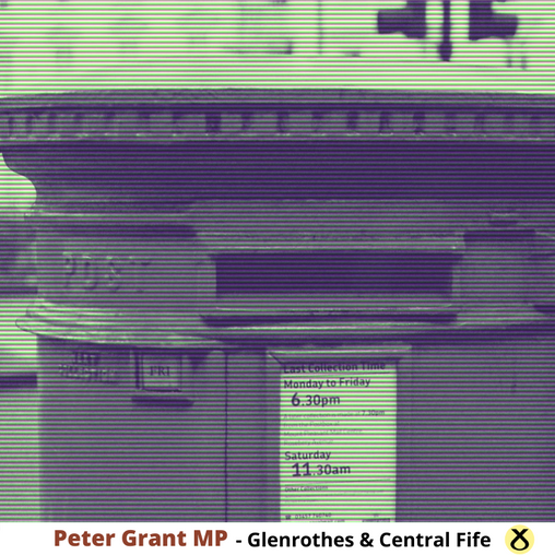 PETER GRANT MP SAYS POST OFFICE NEEDS TO DO MORE TO ENCOURAGE PEOPLE BACK INTO THE INDUSTRY