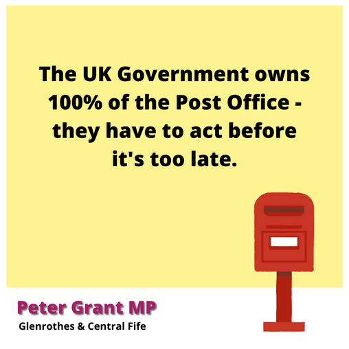 PM OUT OF TOUCH ON POST OFFICE CLOSURES