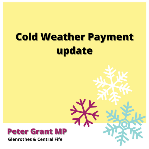 DWP MINISTER ADMITS IGNORANCE OF COLD WEATHER PAYMENT SCHEME