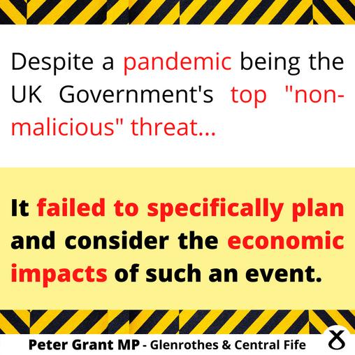 "MP CRITICISES UK's ""ASTONISHING"" COVID FAILURES"