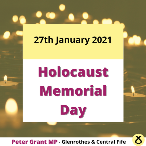 MARKING HOLOCAUST MEMORIAL DAY AT HOME