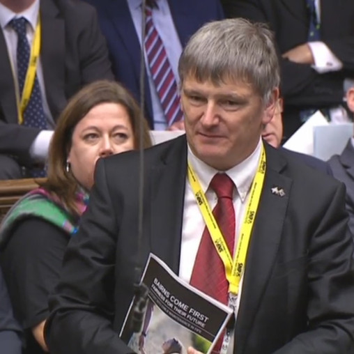 SNP MP BRANDISHES THE PRIME MINISTER'S BREXIT PLAN AS 'ROTTEN'