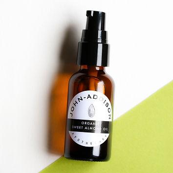 Sweet Almond Oil | John Addison Organic.