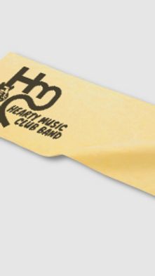 HEARTY MUSIC CLUB BAND:オリジナルスポーツタオル