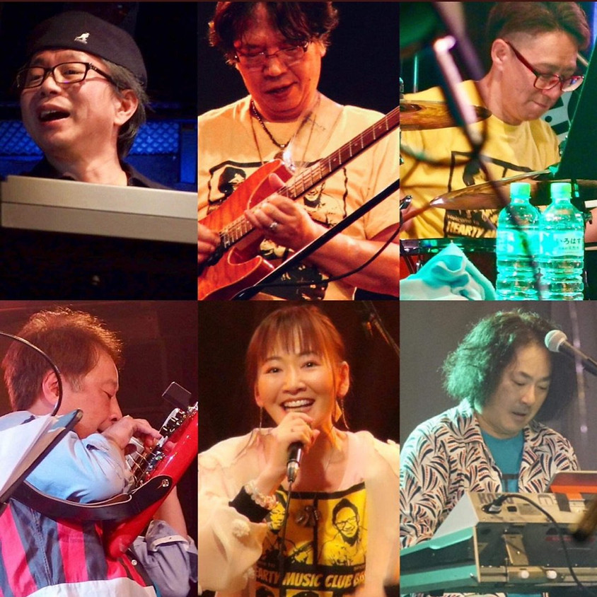 HEARTY MUSIC CLUB BAND 1st.アルバム発売記念ライブツアー『PARTY HEARTY LIVE TOUR!』