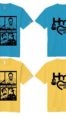 HEARTY MUSIC CLUB BAND:オリジナルTシャツ