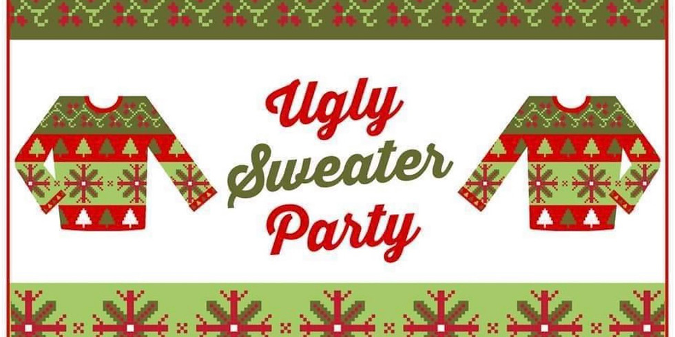Cocktails and Conversations After Work Networking Affair Ugly Sweater Christmas Party