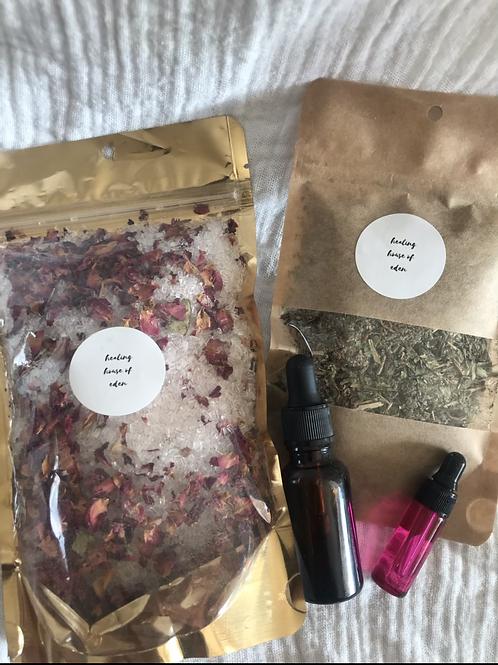 The Rose Box ~ postpartum self care package