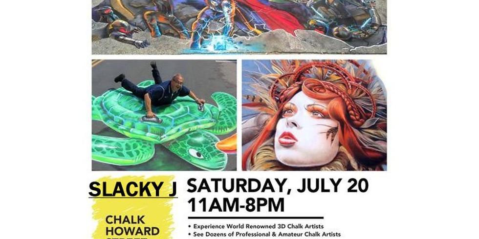 CHALK HOWARD STREET/STREET ART FESTIVAL