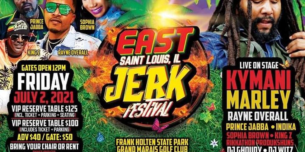 KYMANI MARLEY @ JERK FEST SAINT  LOUIS