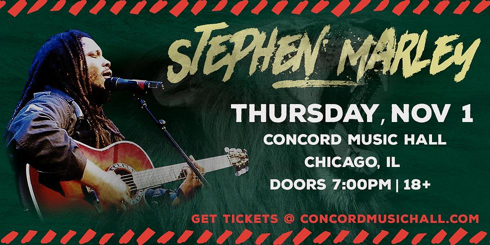 STEPHEN MARLEY IN CHICAGO