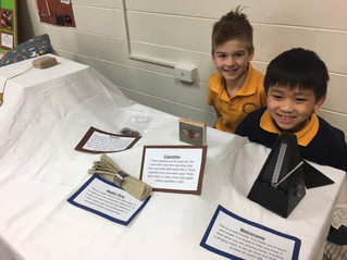 "The Year 1/2 ""Flash From the Past"" Exhibition - a great success!"