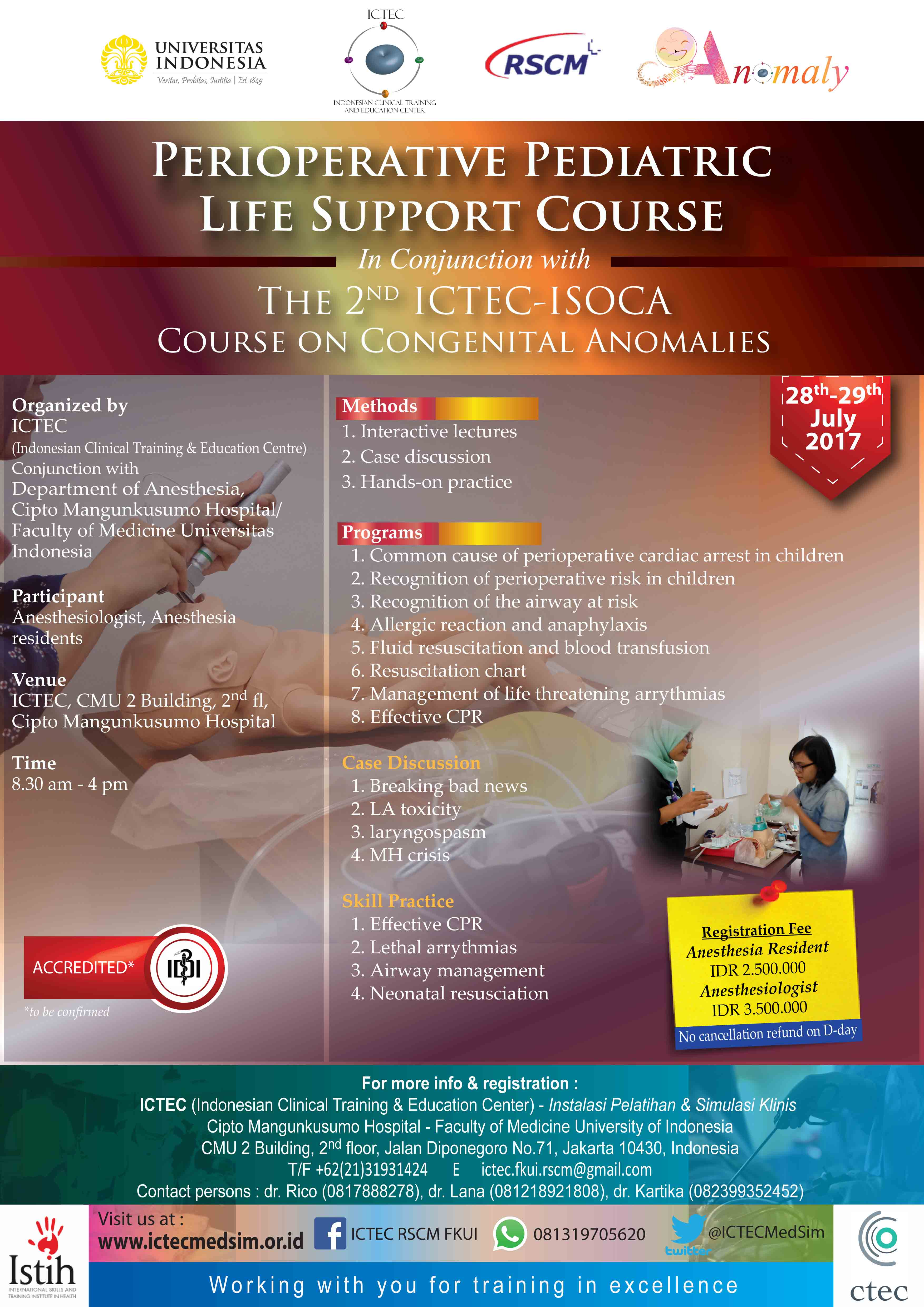 Pediatric Life Support Course