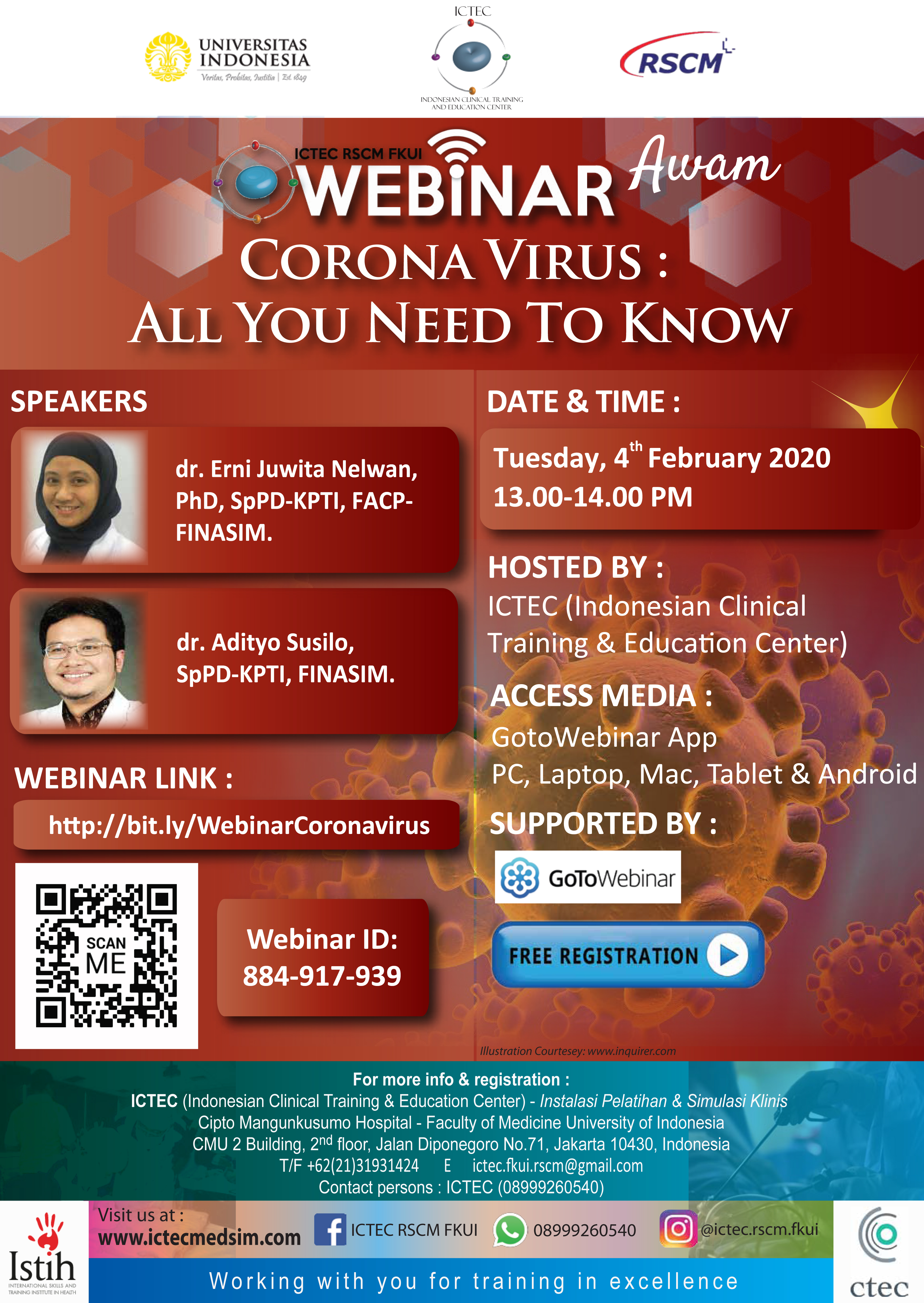 Webinar CORONA VIRUS