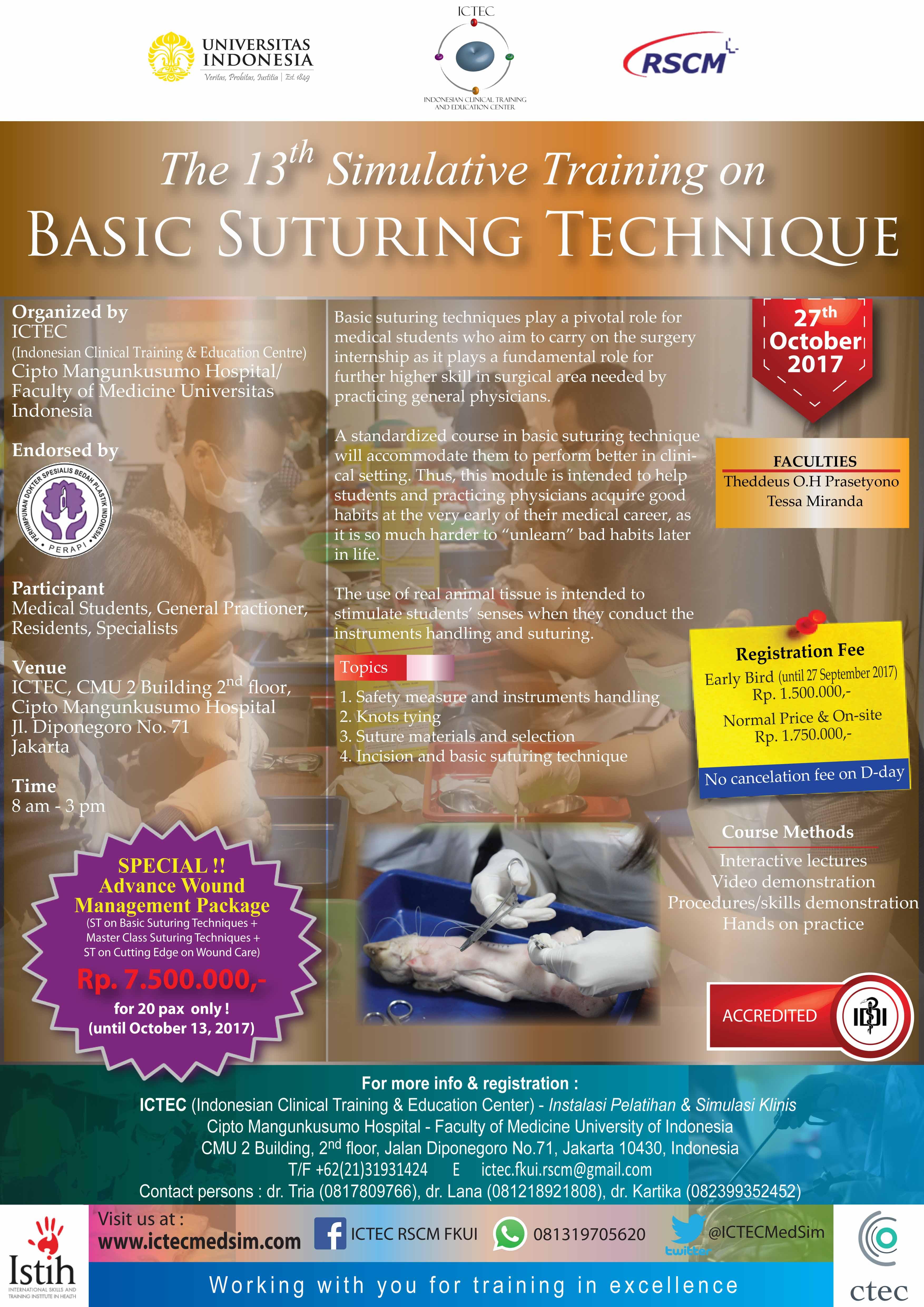 Basic Suturing Technique