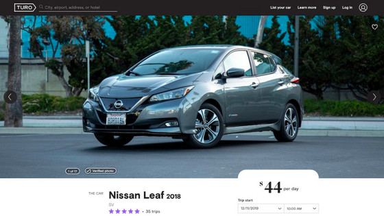 Nissan to offer test drive program with car-sharing service Turo