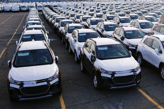 Global car sales expected to slide by 3.1 million this year in steepest drop since Great Recession