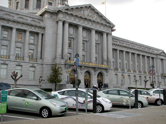 SFMTA Approved 1,000 Parking Spaces To Be Reserved For Car-Sharing Services