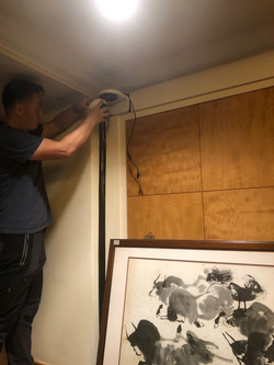 installation of security and cctv