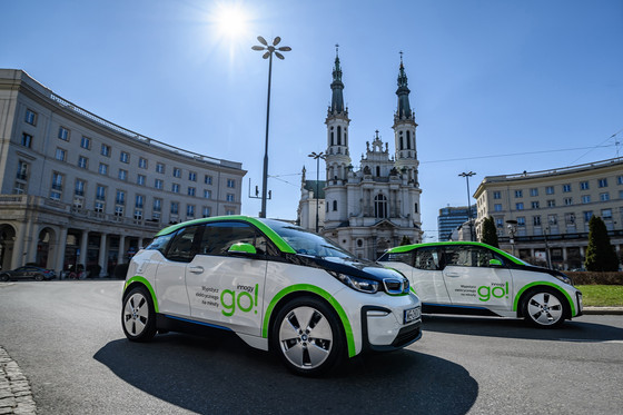 World's Biggest Fleet of BMW i3 Cars for Car-Sharing Arrives in Warsaw