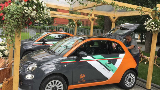 Fiat partners with Delimobil in Russia