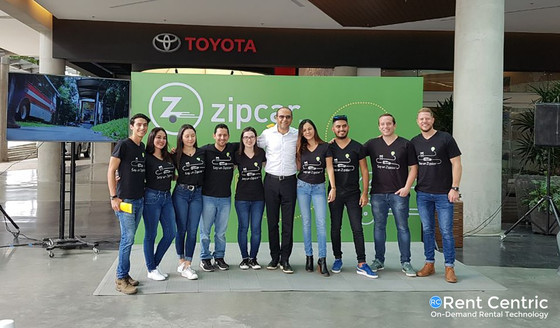 Zipcar launch first Latin America franchise with Rent Centric
