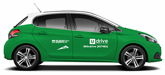 UDrive CarSharing Launches in Abu Dhabi