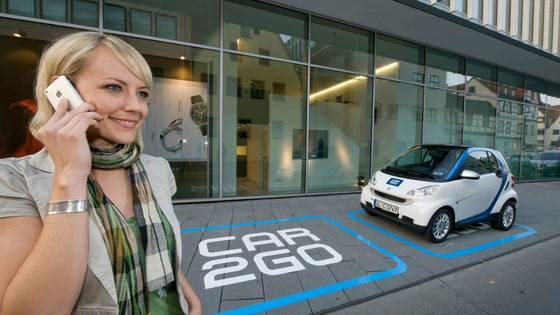 Every 1.4 seconds, someone rents a Car2go