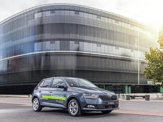 Skoda launches university car-sharing platform