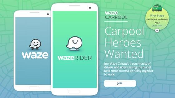 Waze expanding its ride-sharing app
