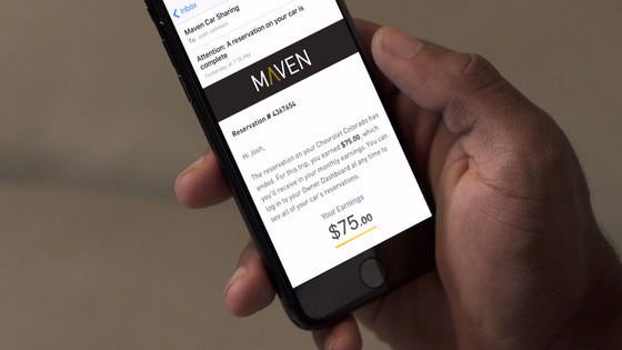 GM allows Ford vehicles and other competitors on its Maven car-sharing platform
