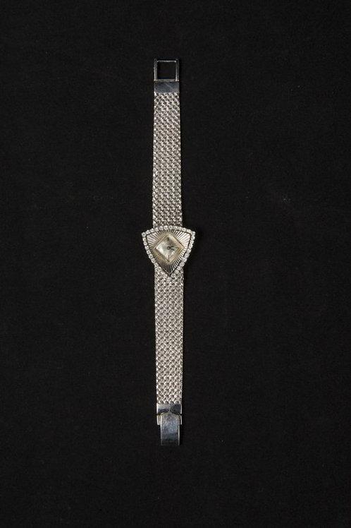 Piaget , Fine lady18K White Gold & Diamond Set