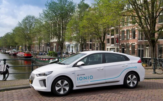 Hyundai Launching Its 1st Fully Electric Carsharing Program In Amsterdam