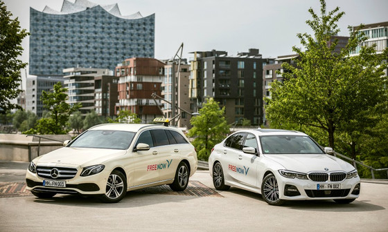 BMW, Daimler ride-hailing venture steps up Uber challenge