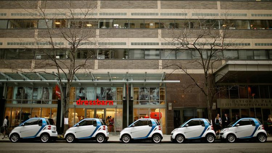 Chicago's car-sharing pilot program with Car2Go moves to full City Council